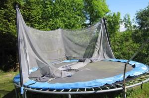 entretien trampoline